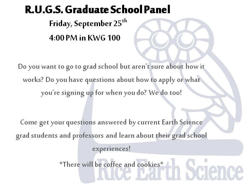 RUGS Grad Panel