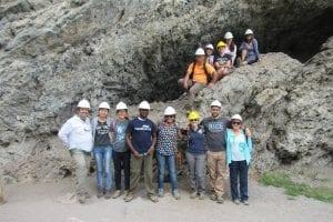 The group at Grassi Lake