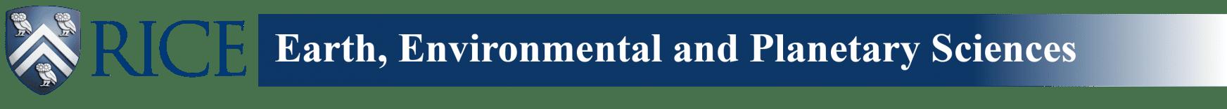 Rice Earth, Environmental & Planetary Sciences
